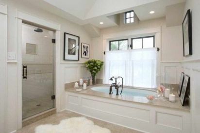 The Secret To French Country Bathroom 44