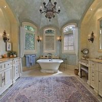 The Secret to French Country Bathroom