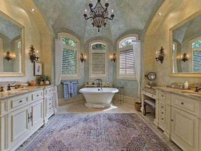The Secret To French Country Bathroom 45