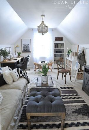 The Definitive Strategy For Attic Living Room Ideas 40