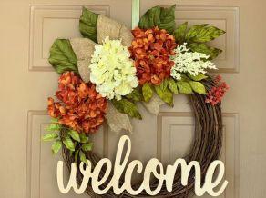 The War Against Welcome Sign Front Door 153