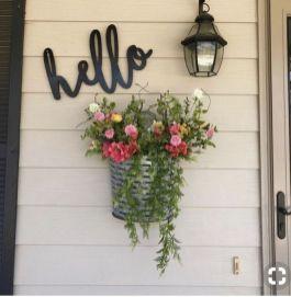 The War Against Welcome Sign Front Door 39