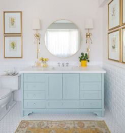35+ The Appeal Of Yellow Bathroom Decor 181