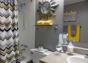 35+ The Appeal Of Yellow Bathroom Decor 187