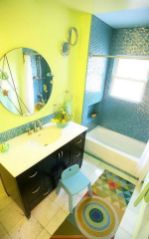 35+ The Appeal Of Yellow Bathroom Decor 196