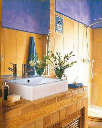 35+ The Appeal Of Yellow Bathroom Decor 253