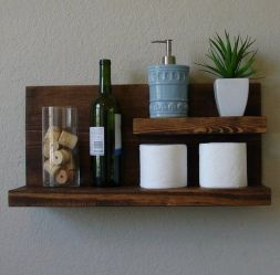 36+ Floating Shelves For Bathroom Reviews & Guide 26