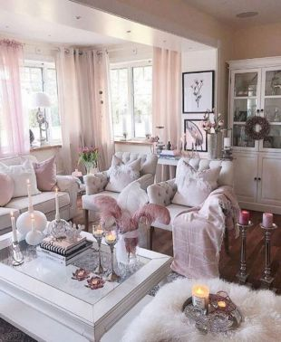38+ The Simple Romantic Living Room Trap 174