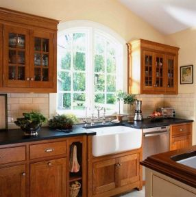 40+ Cherry Wood Kitchen Cabinets Options 188