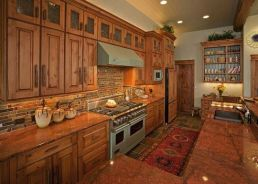 40+ Cherry Wood Kitchen Cabinets Options 203