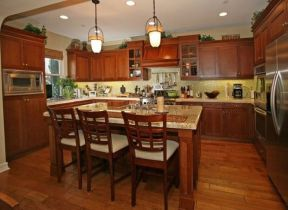 40+ Cherry Wood Kitchen Cabinets Options 254