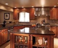 40+ Cherry Wood Kitchen Cabinets Options 279