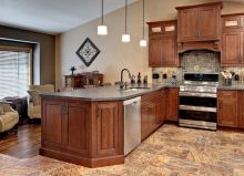 40+ Cherry Wood Kitchen Cabinets Options 326