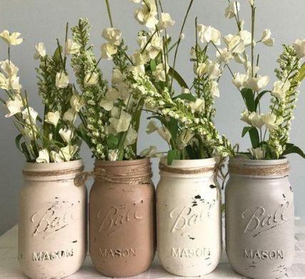 40+ Farmhouse Floral Arrangement , Ideas 113