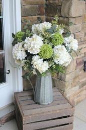 40+ Farmhouse Floral Arrangement , Ideas 151