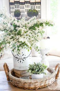 40+ Farmhouse Floral Arrangement , Ideas 187