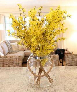 40+ Farmhouse Floral Arrangement , Ideas 213