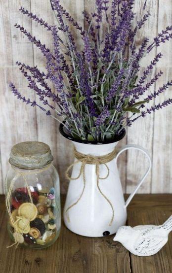 40+ Farmhouse Floral Arrangement , Ideas 217