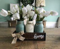 40+ Farmhouse Floral Arrangement , Ideas 229