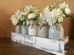 40+ Farmhouse Floral Arrangement , Ideas 231