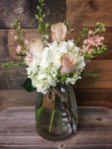 40+ Farmhouse Floral Arrangement , Ideas 255