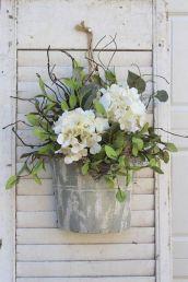 40+ Farmhouse Floral Arrangement , Ideas 36