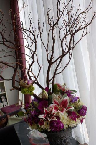 40+ Farmhouse Floral Arrangement , Ideas 57