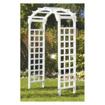 35+ Top Guide Of Metal Garden Arbor Trellis With Gate Scroll Design Arch Climbing Plants 155
