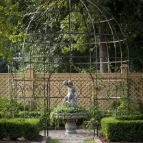 35+ Top Guide Of Metal Garden Arbor Trellis With Gate Scroll Design Arch Climbing Plants 72