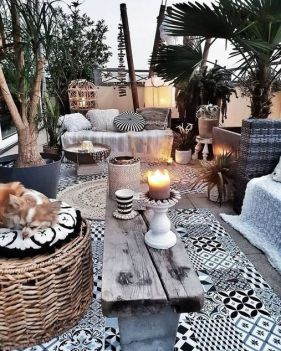 36+ Fresh And Creative Outdoor Patio Secrets 251