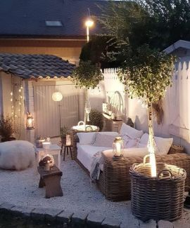 36+ Fresh And Creative Outdoor Patio Secrets 76