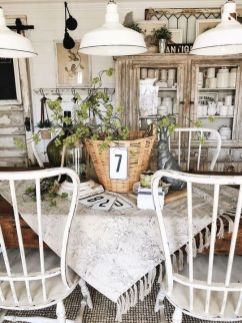 37+ Instant Solutions For Farmhouse Dinning Room 138
