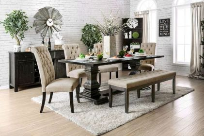 37+ Instant Solutions For Farmhouse Dinning Room 154