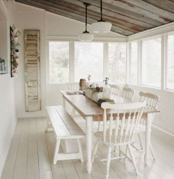 37+ Instant Solutions For Farmhouse Dinning Room 205