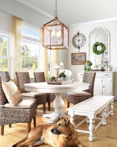 37+ Instant Solutions For Farmhouse Dinning Room 51