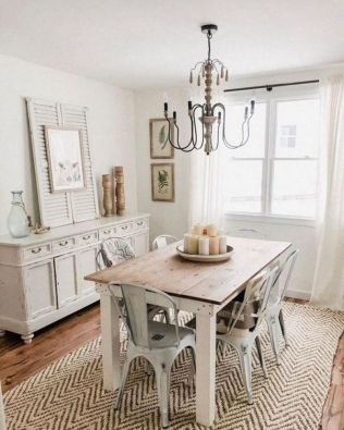 37+ Instant Solutions For Farmhouse Dinning Room 92