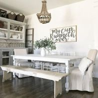 37+ Instant Solutions For Farmhouse Dinning Room 96