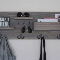 37+ The Nuiances Of Entryway Organizer Mail Key Holder Coat Rack Key Hooks Wall Coat Hook Shelf 131