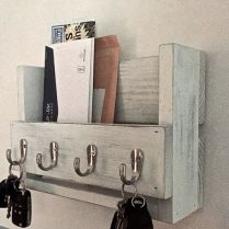 37+ The Nuiances Of Entryway Organizer Mail Key Holder Coat Rack Key Hooks Wall Coat Hook Shelf 210