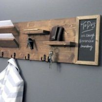 37+ The Nuiances Of Entryway Organizer Mail Key Holder Coat Rack Key Hooks Wall Coat Hook Shelf 212