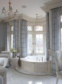 37+ Top Bathroom Drapery Ideas Secrets 1