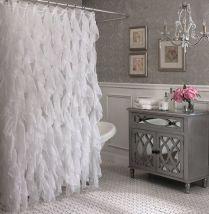 37+ Top Bathroom Drapery Ideas Secrets 198