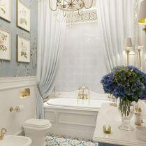 37+ Top Bathroom Drapery Ideas Secrets 27