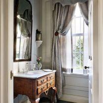 37+ Top Bathroom Drapery Ideas Secrets 63