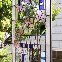 37+ Vital Pieces Of Stained Glass Home Design Ideas 204