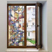 37+ Vital Pieces Of Stained Glass Home Design Ideas 269