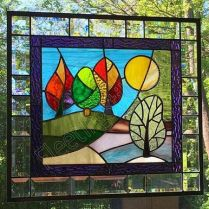 37+ Vital Pieces Of Stained Glass Home Design Ideas 302
