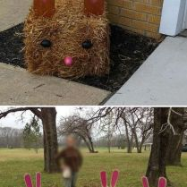 40+ Things You Won't Like About Easter Ideas For Outdoor Decorations And Things You Will 161