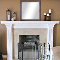 41+ What You Do Not Know About Fireplace Cover Frame May Shock You 230