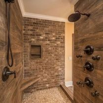 49+ Fraud, Deceptions, And Downright Lies About Bathroom Designs With Stone For Elegant Look Exposed 34